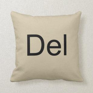 Control Alt Delete Ctrl Del Pillow