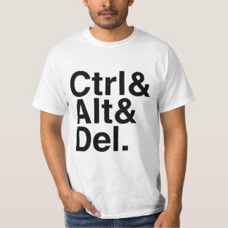 Control Alt Delete Ctrl Alt Del T-Shirt
