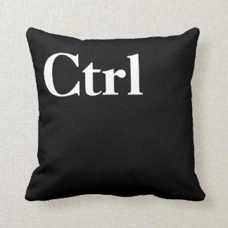 Control Alt Delete Ctrl Alt Del Throw Pillow