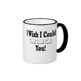 Control Alt Delete Ringer Mug