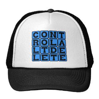 Control Alt Delete, Windows Shortcut Trucker Hat