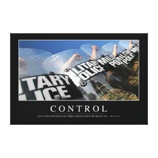 Control: Cita inspirada Lona Estirada Galerias