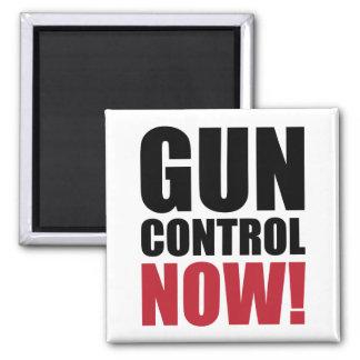 Control de armas ahora imán cuadrado