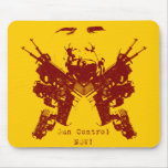 ¡Control de armas, AHORA! Mousepad Tapetes De Ratón