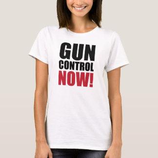 Control de armas ahora playera