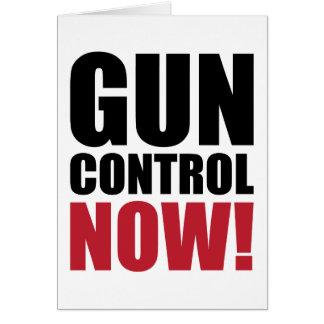 Control de armas ahora tarjetón