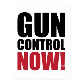 Control de armas ahora postal