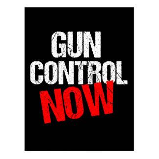 Control de armas ahora tarjetas postales