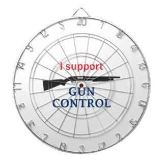 Control de armas tabla dardos
