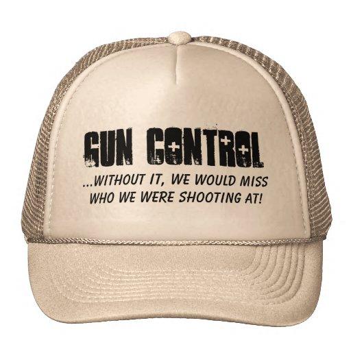CONTROL DE ARMAS,… sin él, faltaríamos quién w… Gorros Bordados