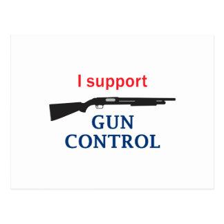Control de armas tarjeta postal