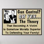 ¿Control de armas? ¡Teoría de una víctima! Posters