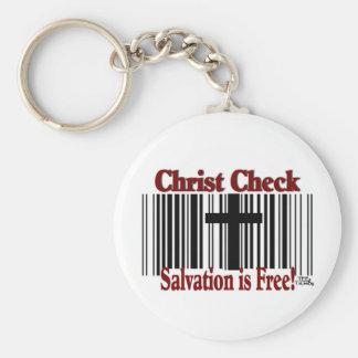 ¡Control de Cristo! Llaveros