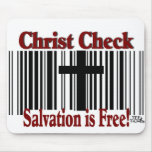¡Control de Cristo! Tapetes De Raton