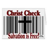 ¡Control de Cristo! Tarjeta