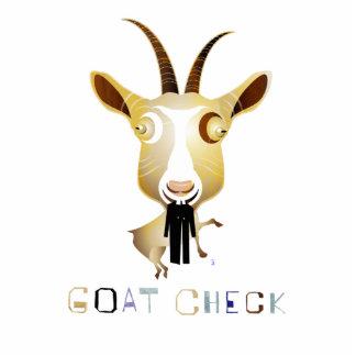 Control de la cabra - ejemplo de ZooDo Fotoescultura Vertical