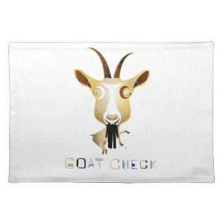 Control de la cabra - ejemplo de ZooDo Mantel