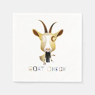Control de la cabra - ejemplo de ZooDo Servilleta De Papel