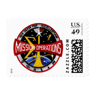 Control de la misión del centro de la nave sello