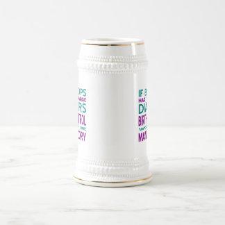 Control de la natalidad obligatorio 2 jarra de cerveza