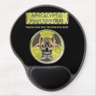 Control de parásito apocalíptico alfombrilla de ratón con gel