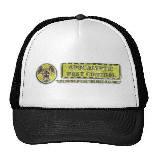 Control de parásito apocalíptico gorras