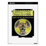 Control de parásito apocalíptico iPad 2 skins