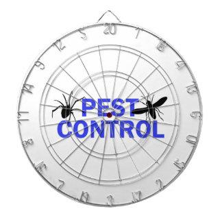 Control de parásito tabla dardos