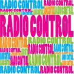 Control de radio colorido esculturas fotográficas