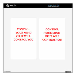 CONTROL DECALS FOR KINDLE FIRE