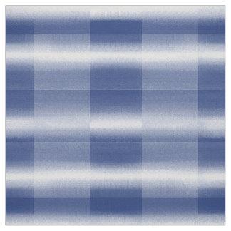 Control del azul y del blanco telas