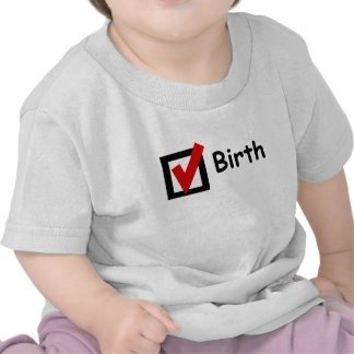 Control del nacimiento camisetas