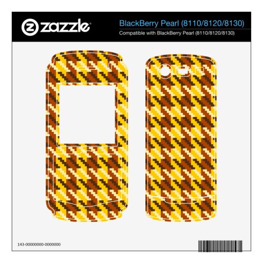 Control del oro calcomanía para BlackBerry