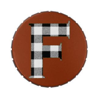 Control F de la guinga Frascos De Caramelos