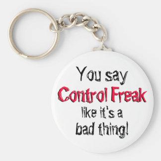 Control Freak Keychain