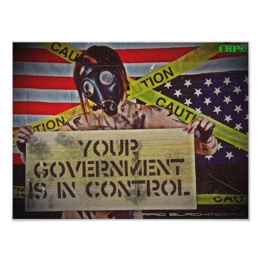 Control gubernamental arte fotográfico