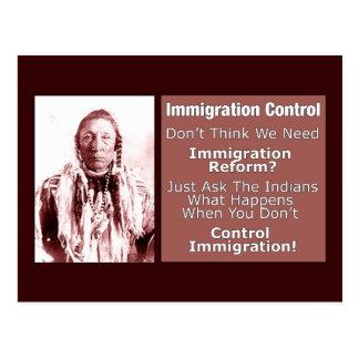 Control-Immigration Postcard