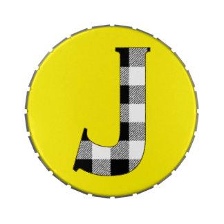 Control J de la guinga Jarrones De Caramelos