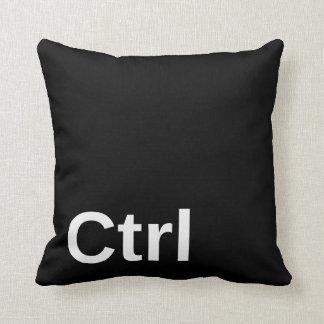 Control Key Throw Pillow