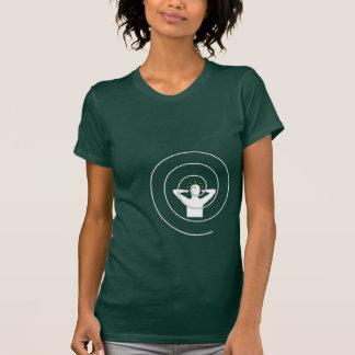 Control mental - blanco camisetas