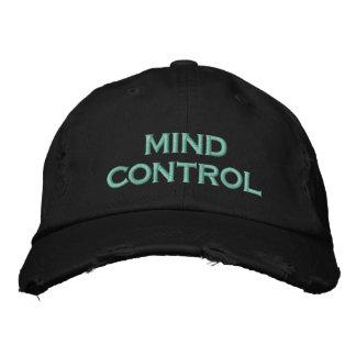 control mental gorra de béisbol bordada