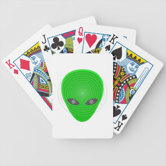 Control mental principal extranjero baraja cartas de poker