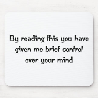 Control over your mind mouse pad