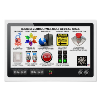 CONTROL PANEL TOOLS POSTER