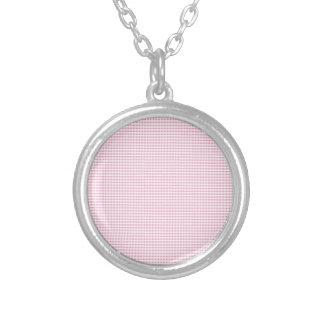 Control rosado y blanco de la guinga pendiente