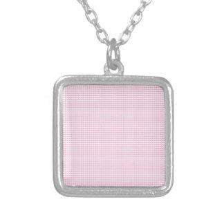 Control rosado y blanco de la guinga colgante personalizado
