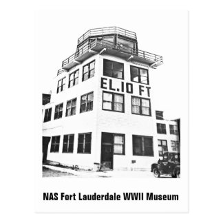 Control Tower at NAS Fort Lauderdale Postcard