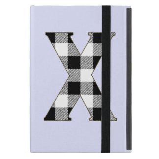 Control X de la guinga iPad Mini Cárcasas
