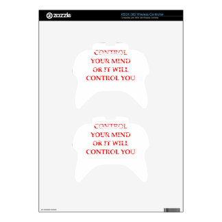 CONTROL XBOX 360 CONTROLLER SKINS