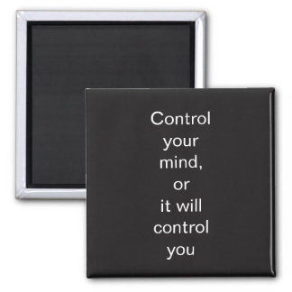 Control You Mind Magnet